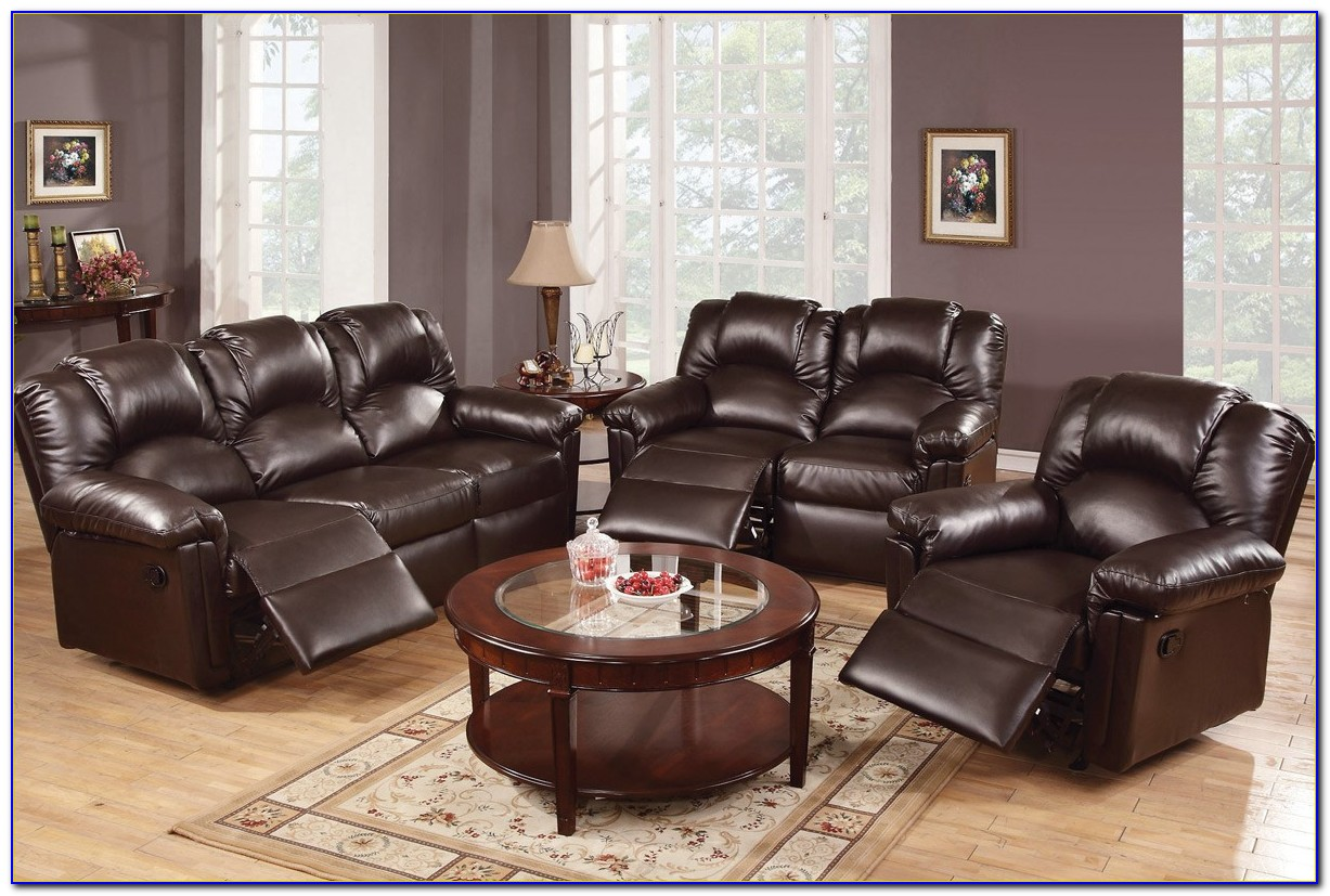 Leather Reclining Sofas And Loveseats