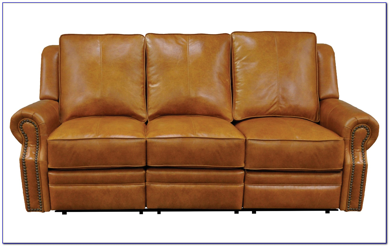 Leather Sectional Reclining Sofa With Chaise