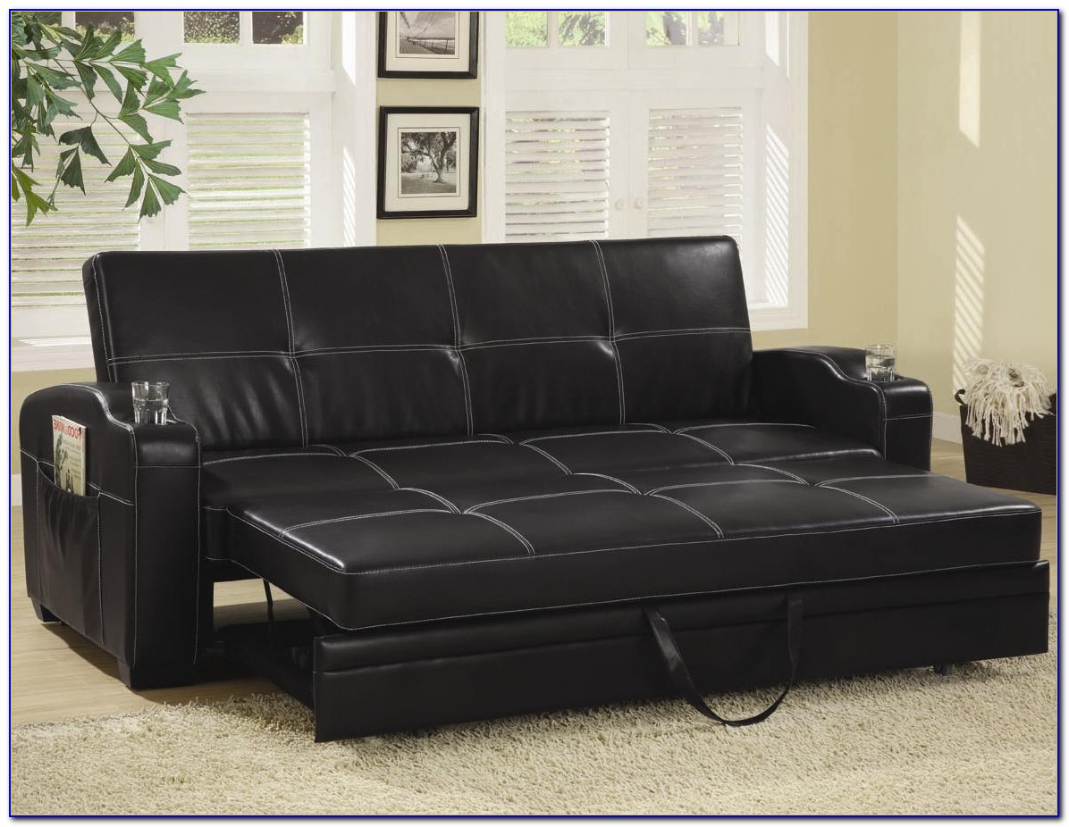 Leather Sectional Sofa Bed Canada
