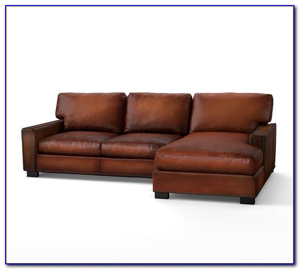 Leather Sectional Sofa With Chaise And Ottoman