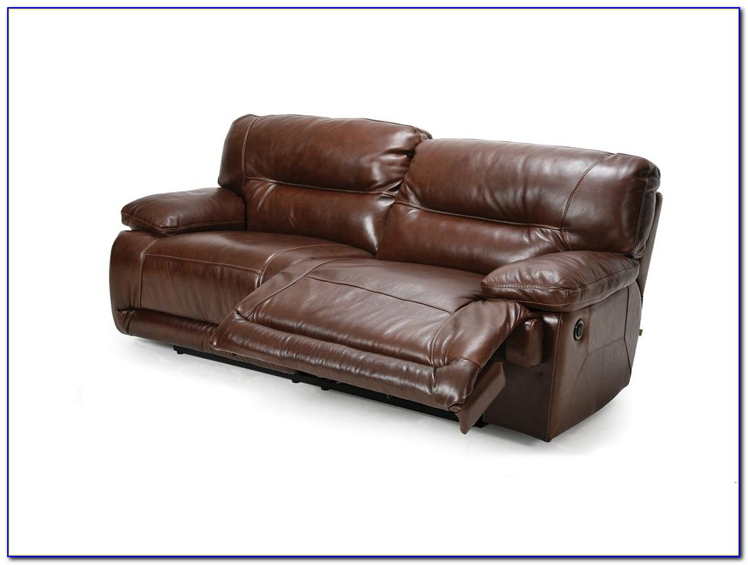 Leather Sofa Set With Recliner