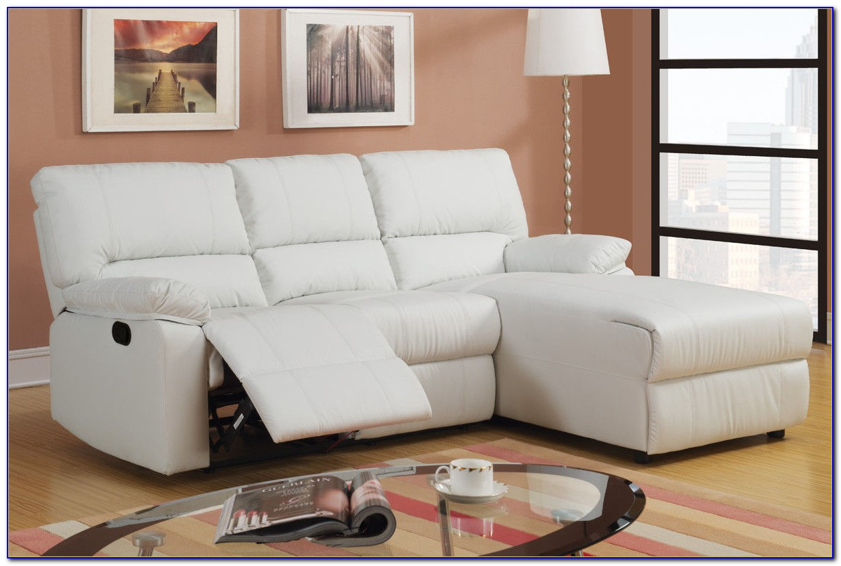 Leather Sofa With Chaise Lounge And Recliner