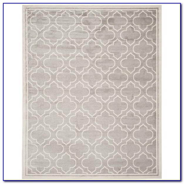 Light Grey Rug 8x10