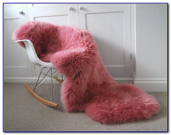 Light Pink Sheepskin Rug