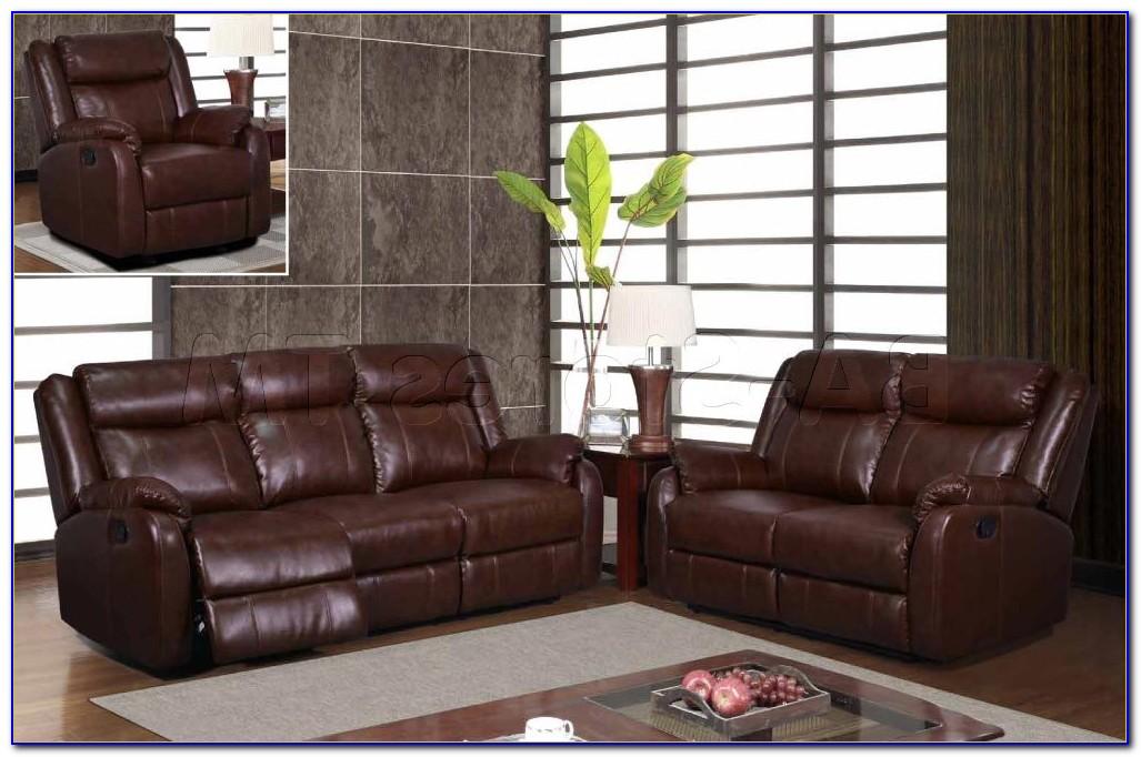 Microfiber Reclining Sofa And Loveseat Sets