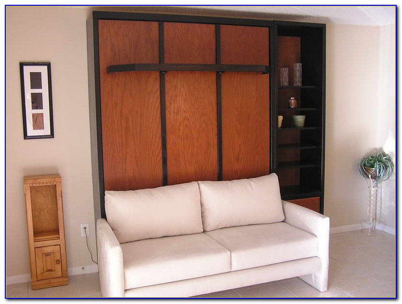 Murphy Bed With Sofa Plans