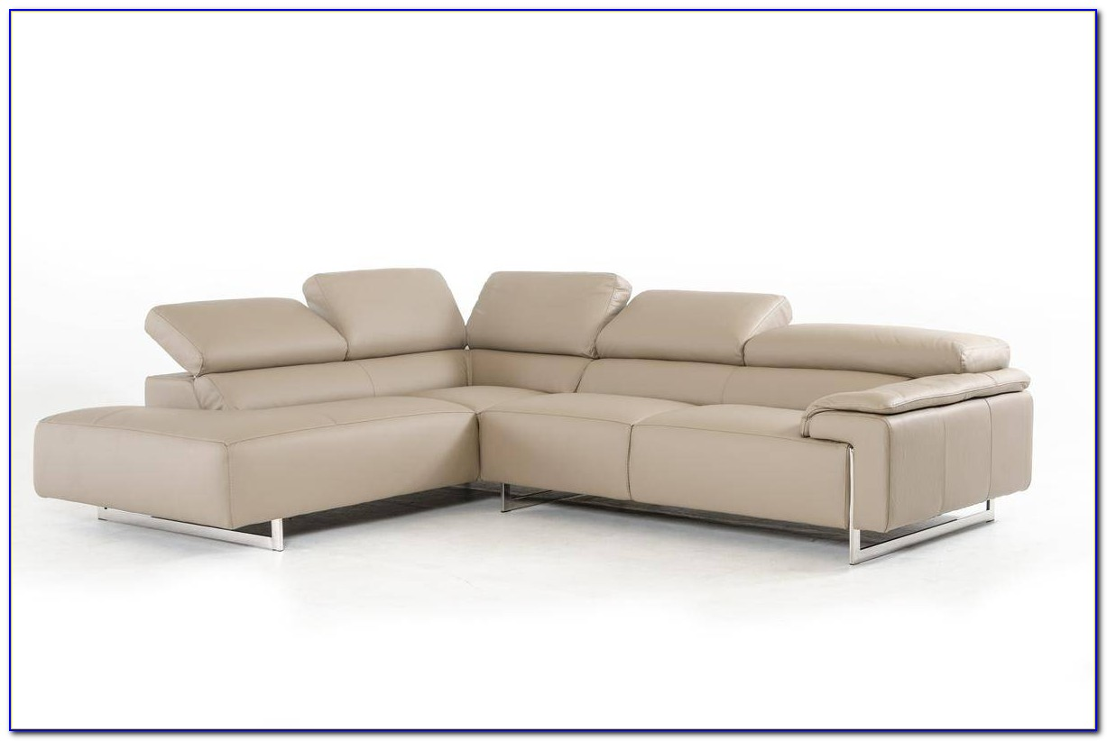 Natuzzi Italian Leather Sectional Sofa
