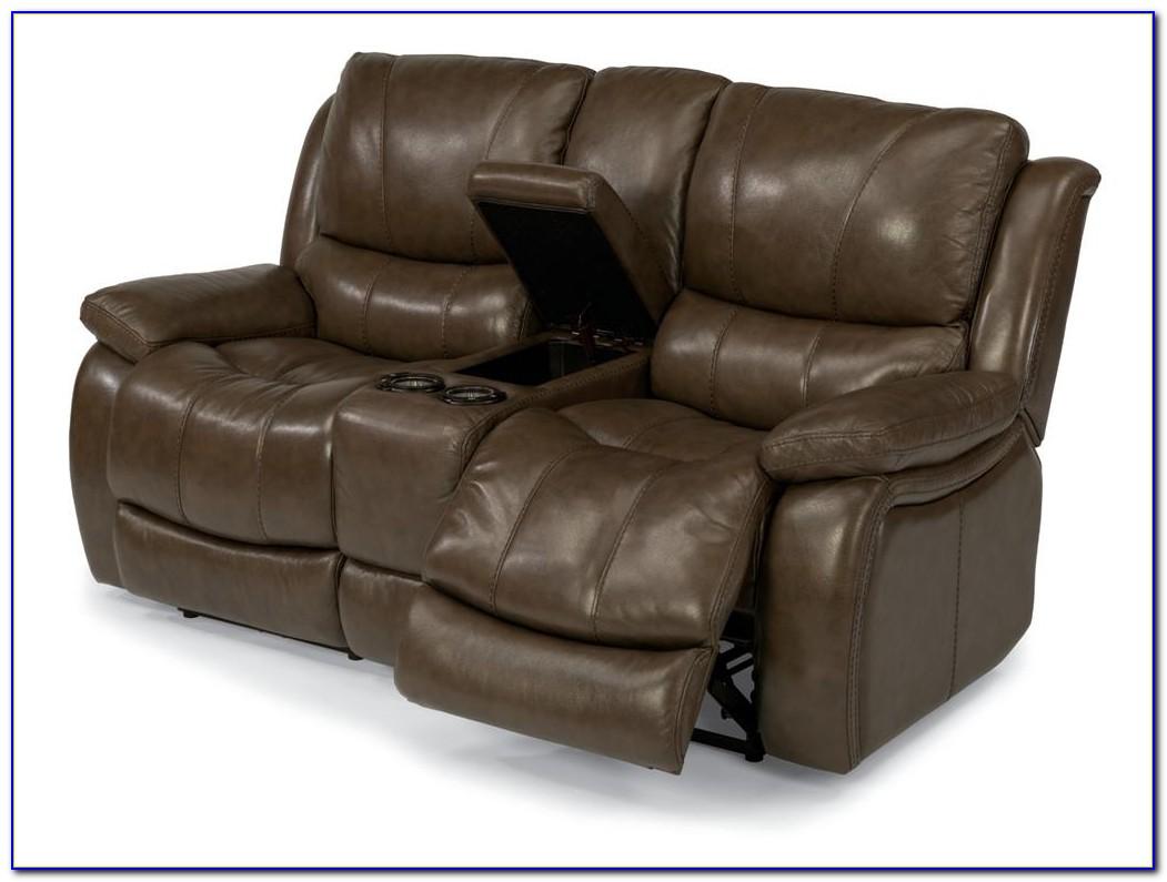 Natuzzi Leather Power Reclining Sofa