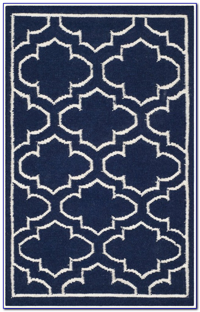 Navy Blue Area Rug 8x10