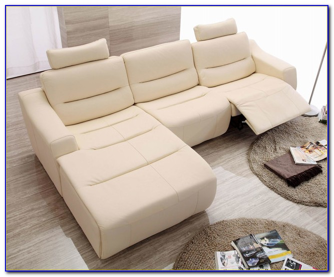Nicolo Leather Reclining Sectional Sofa