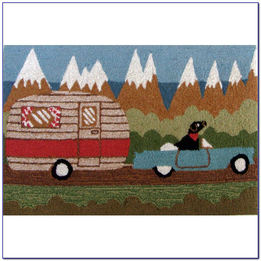 Outdoor Camping Rug 9x12