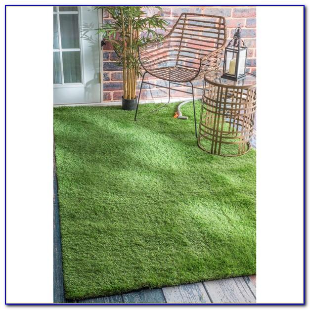 Outdoor Grass Rug