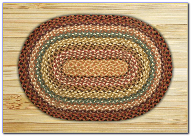 Oval Braided Rug Sets