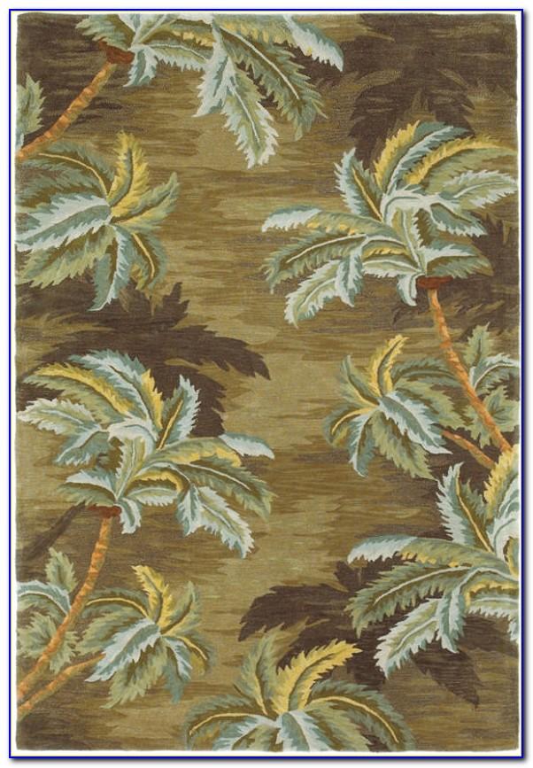 Palm Tree Area Rugs