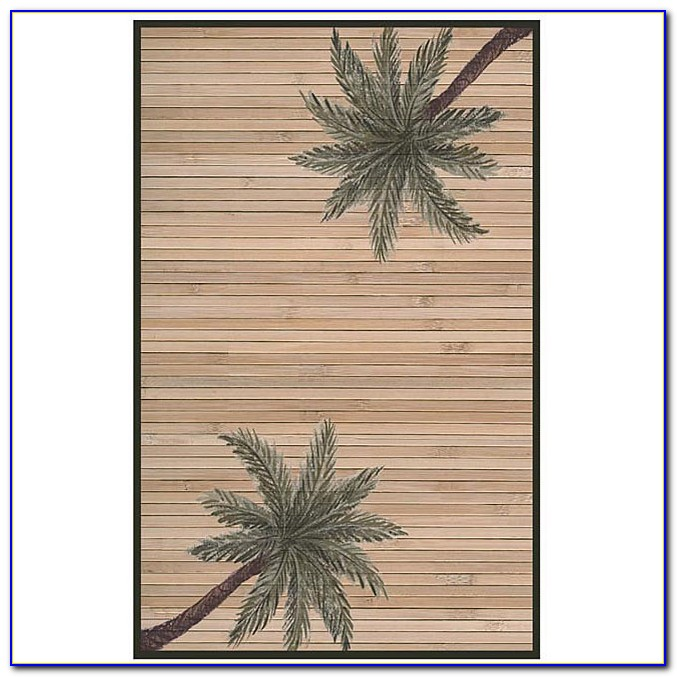 Palm Tree Rug Runners