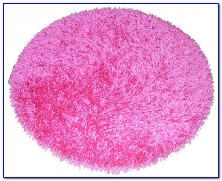 Pink Fluffy Rug Argos