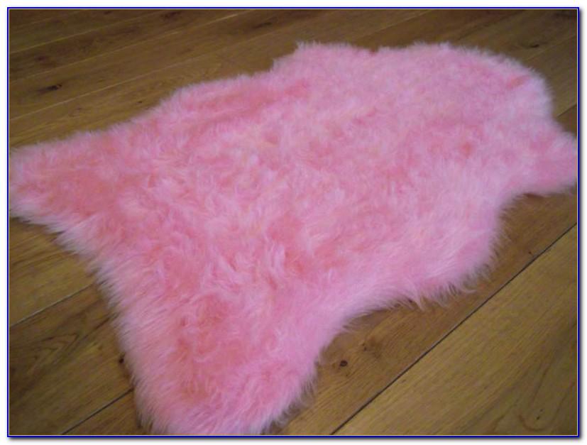 Pink Fluffy Rug Ikea