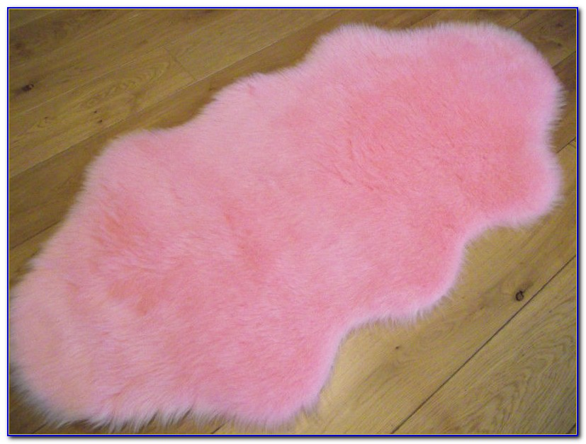 Pink Fluffy Rugs Uk