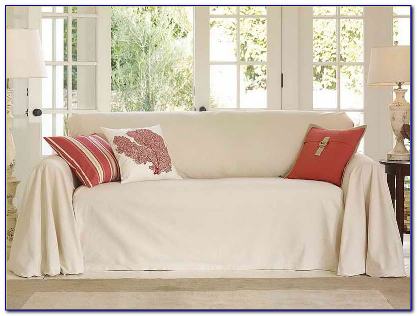 Pottery Barn Charleston Sofa Slipcover White