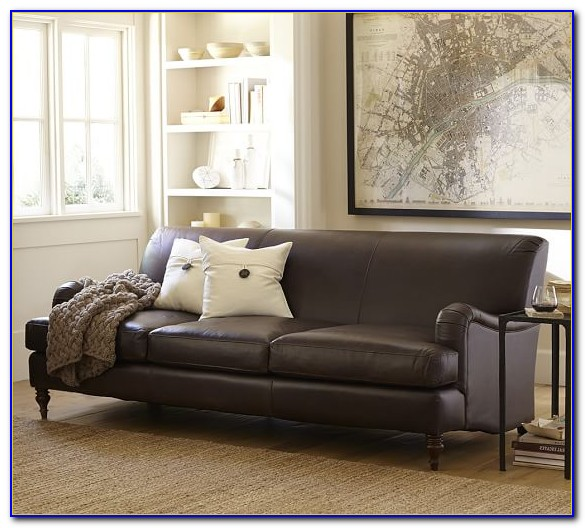 Pottery Barn Leather Sofa Quality