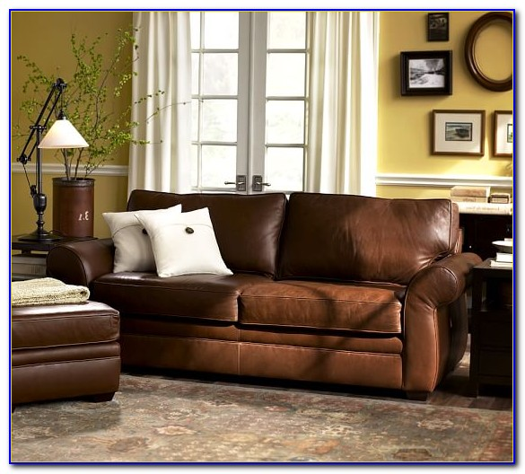Pottery Barn Leather Sofa Scratches