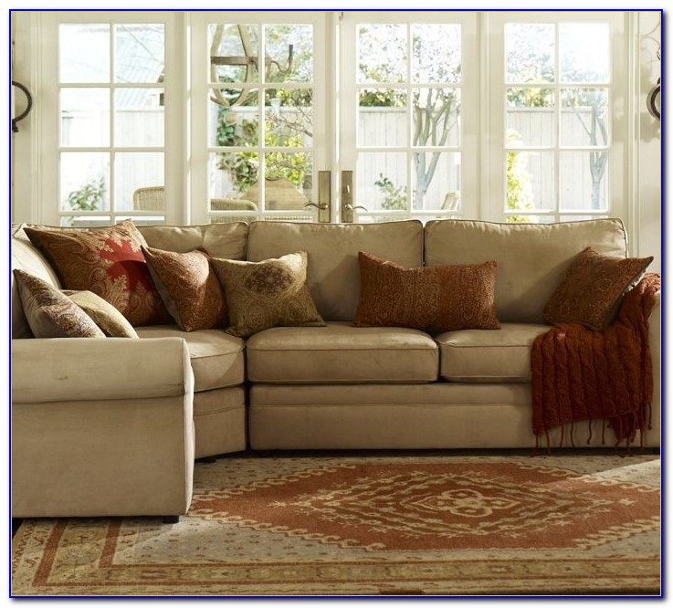 Pottery Barn Seagrass Sectional Sofa