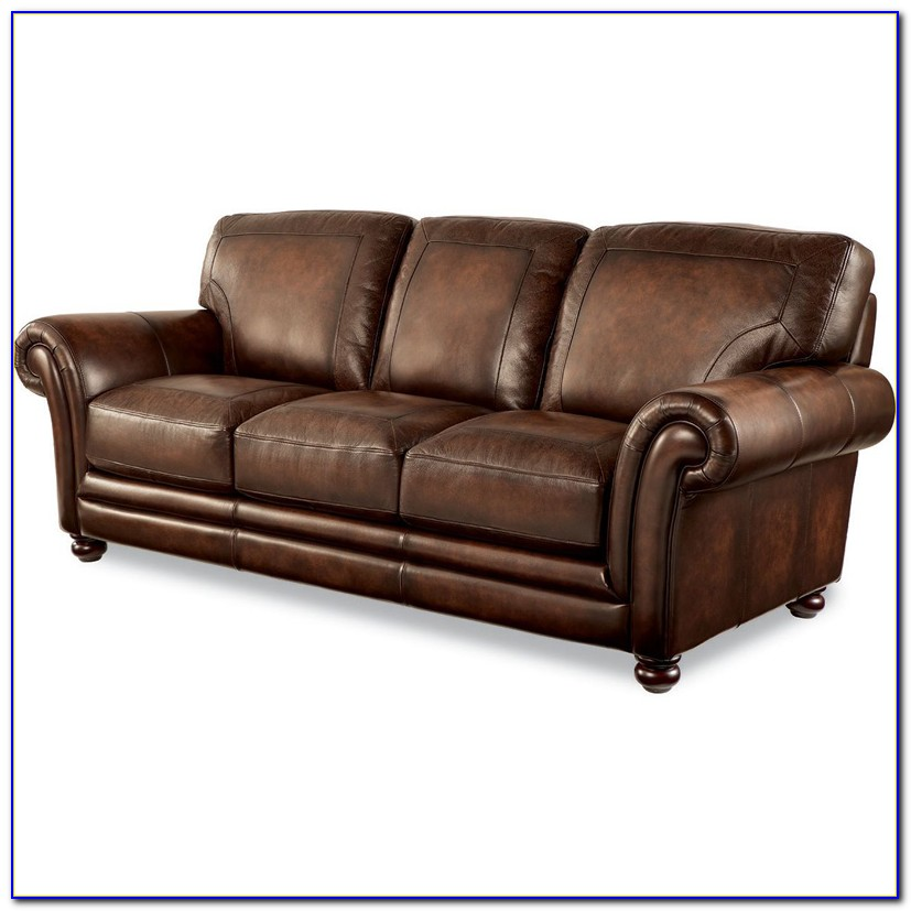 Power Reclining Leather Sofa And Loveseat