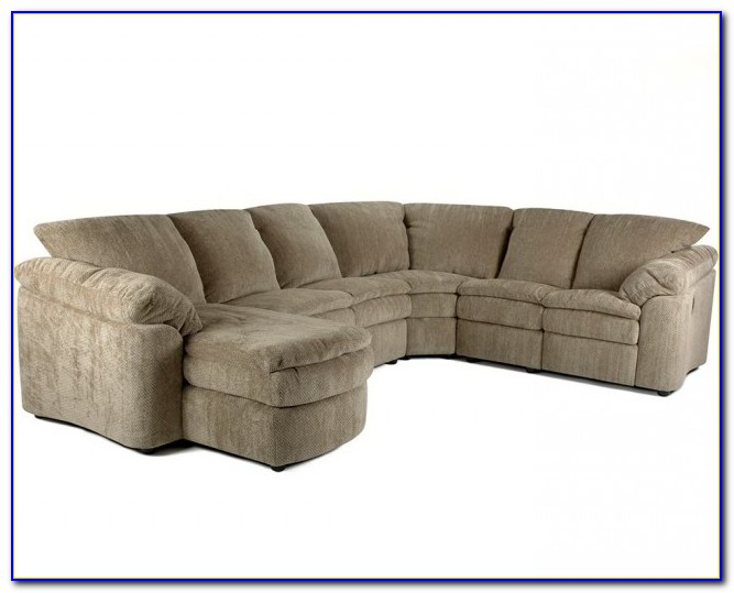 Power Reclining Sectional Sofa With Chaise