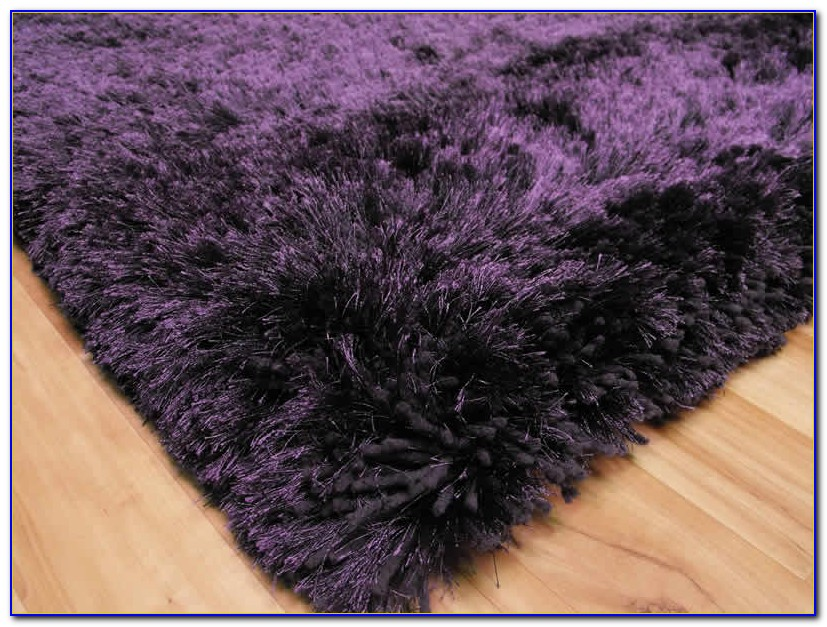 Purple Shaggy Rugs Australia