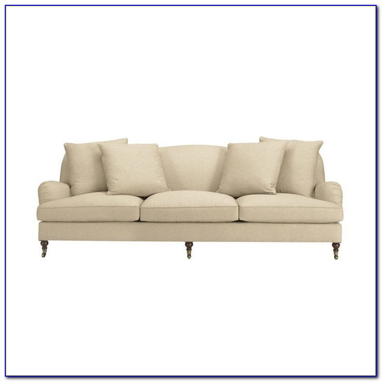 Ralph Lauren Home Leather Sofa