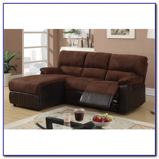Reclining Sectional Sofa With Chaise Lounge