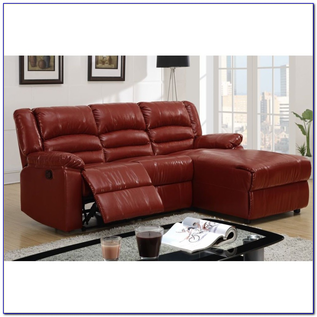 Reclining Sofa With Chaise And Console