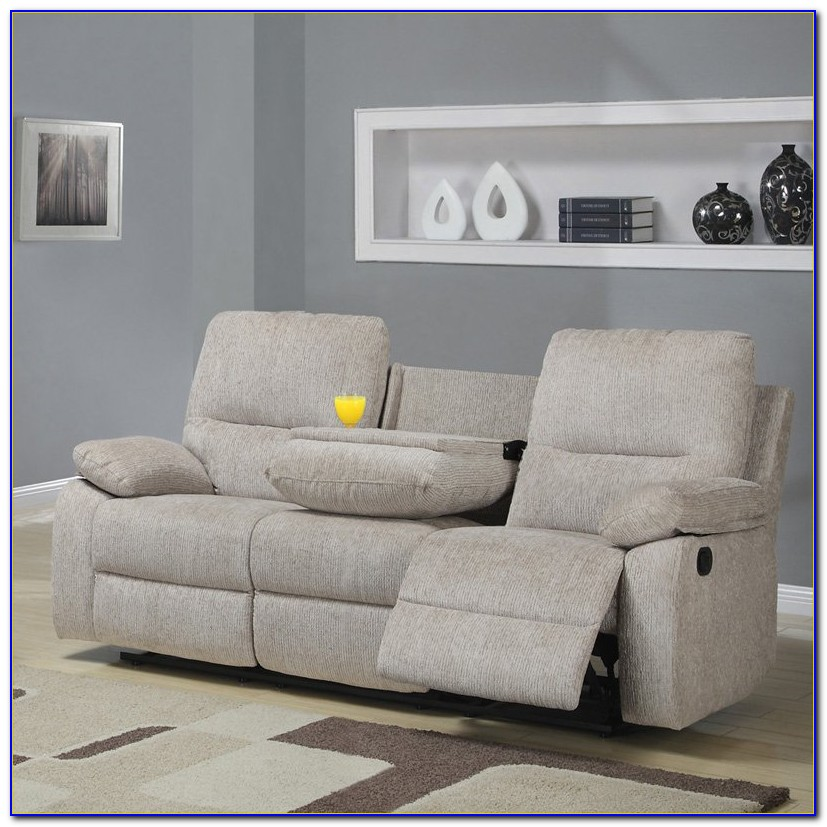 Reclining Sofa With Console Canada