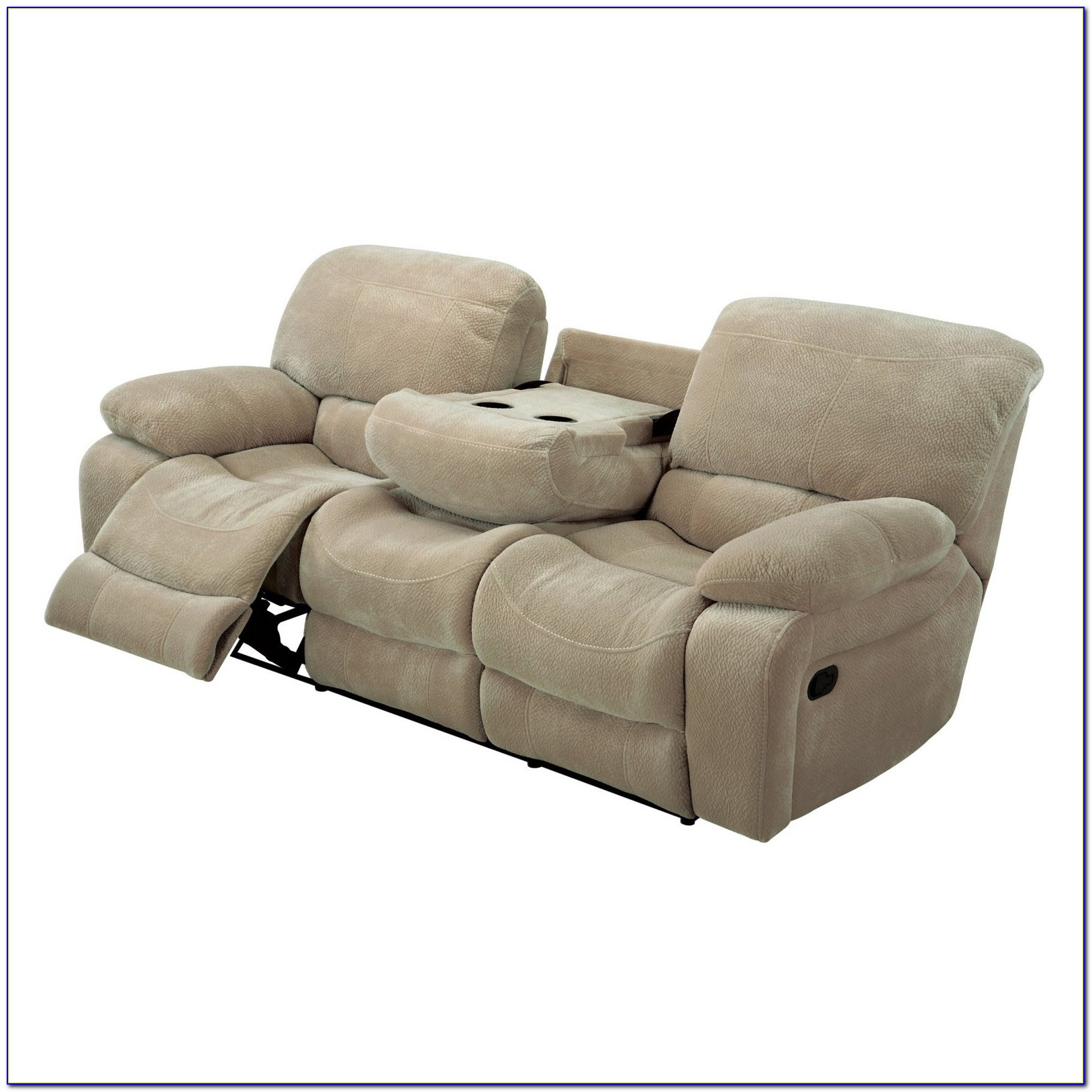 Reclining Sofa With Drop Down Table And Massage