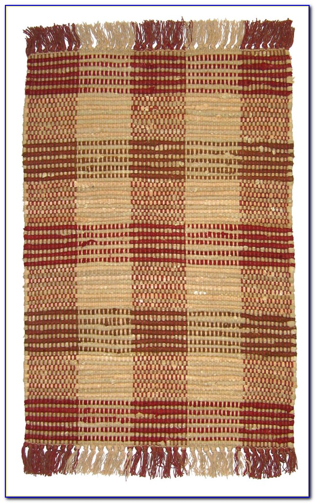 Red Plaid Area Rugs