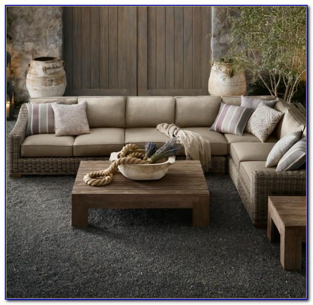 Restoration Hardware Lancaster Sectional Sofa
