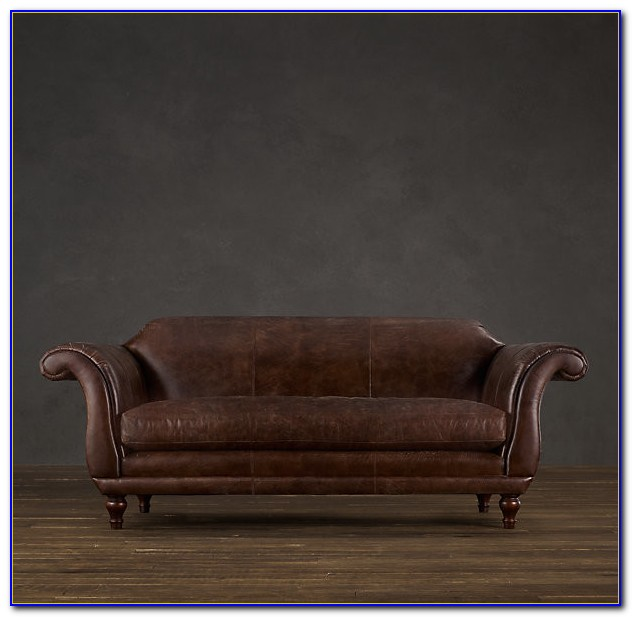 Restoration Hardware Leather Sofa Care