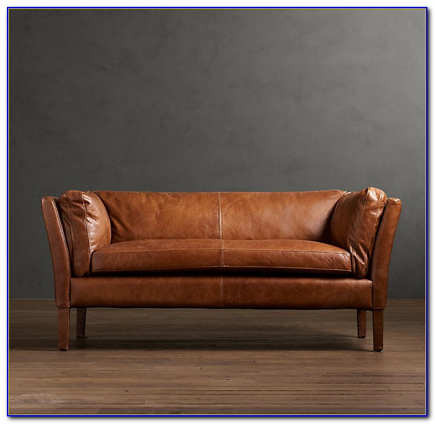 Restoration Hardware Leather Sofa Scratches