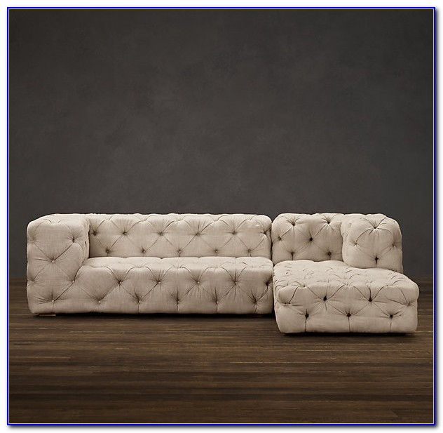 Restoration Hardware Sectional Couches