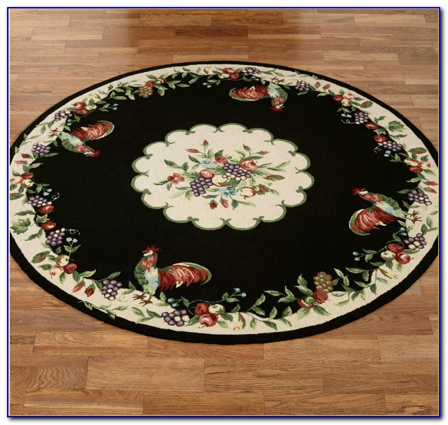 Rooster Print Area Rugs
