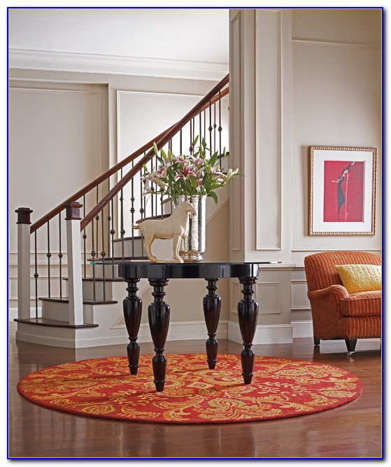 Round Entry Area Rugs