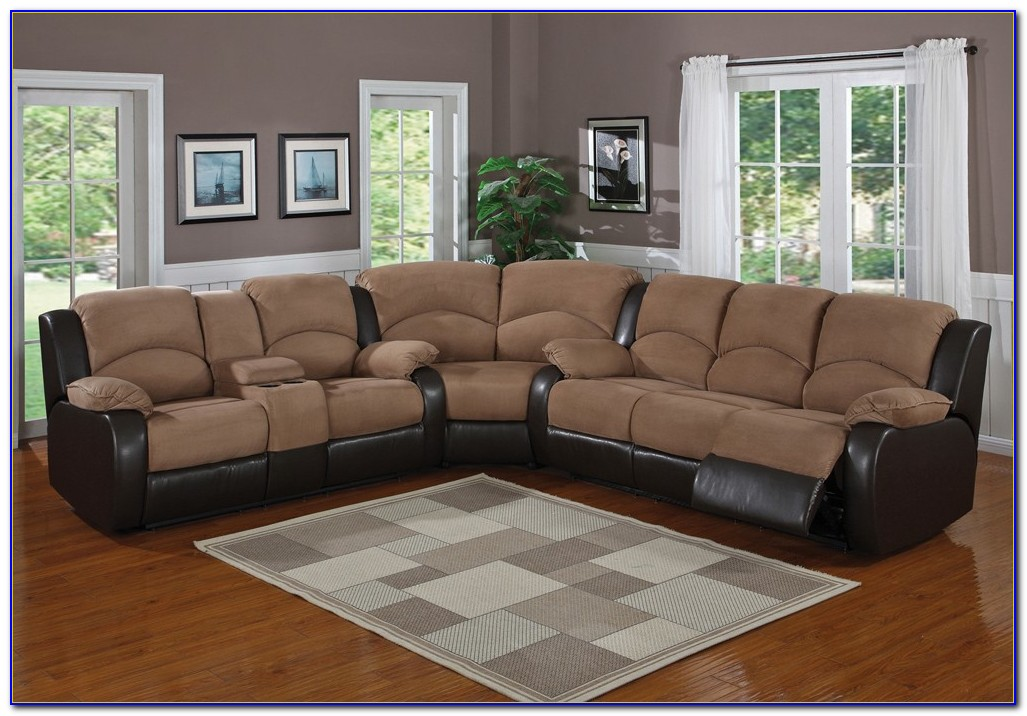 Sectional Sofa With Recliner And Ottoman