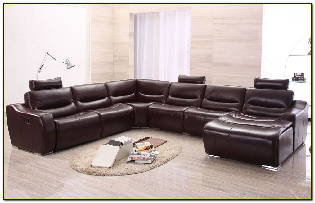 Sectional Sofa With Recliner Fabric