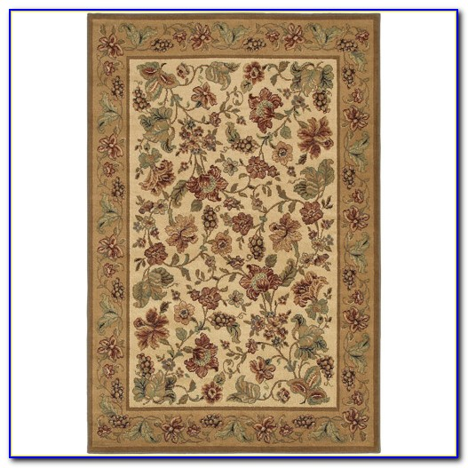 Shaw Living Area Rugs Brown