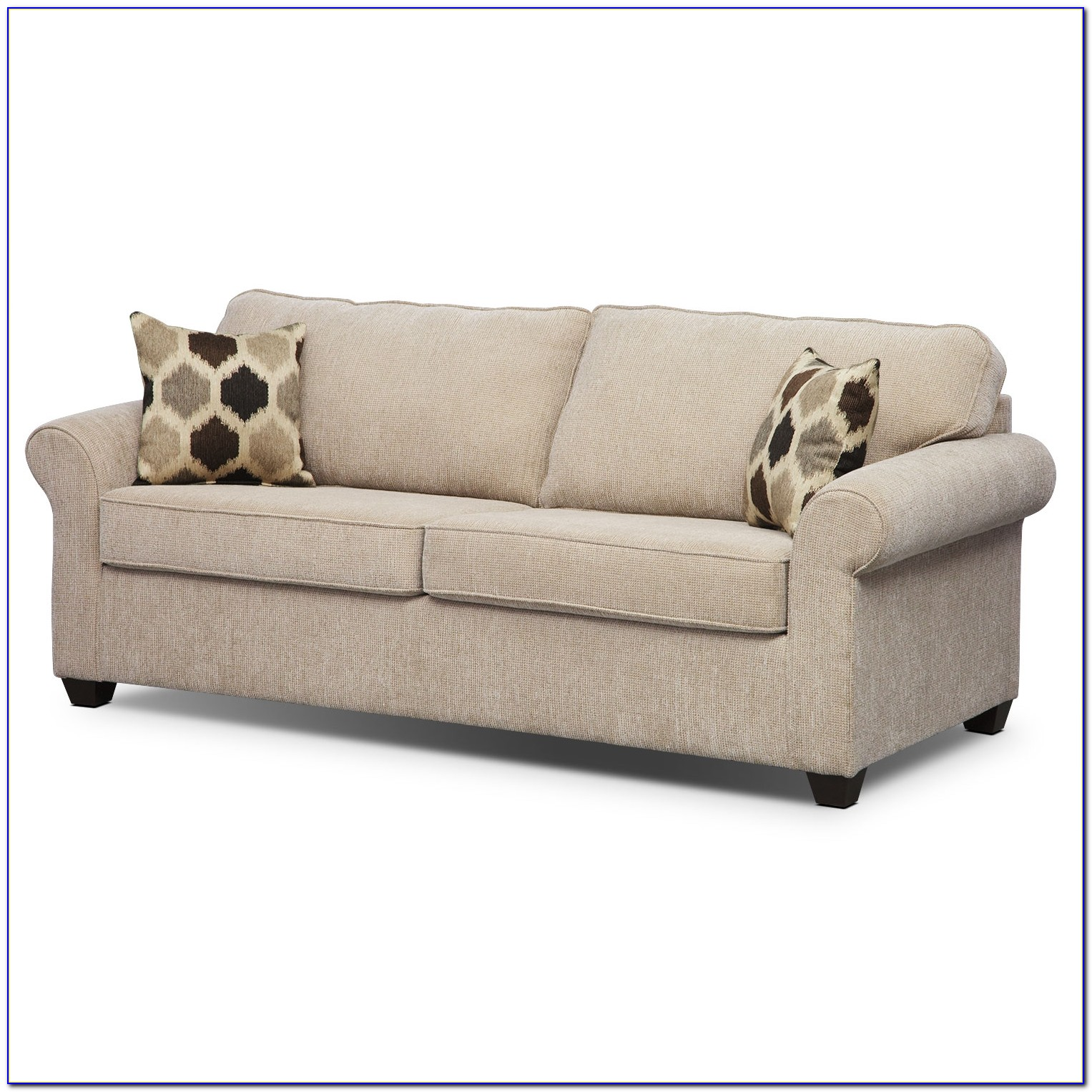 Sienna Queen Chaise Sectional Sleeper Sofa By Savvy