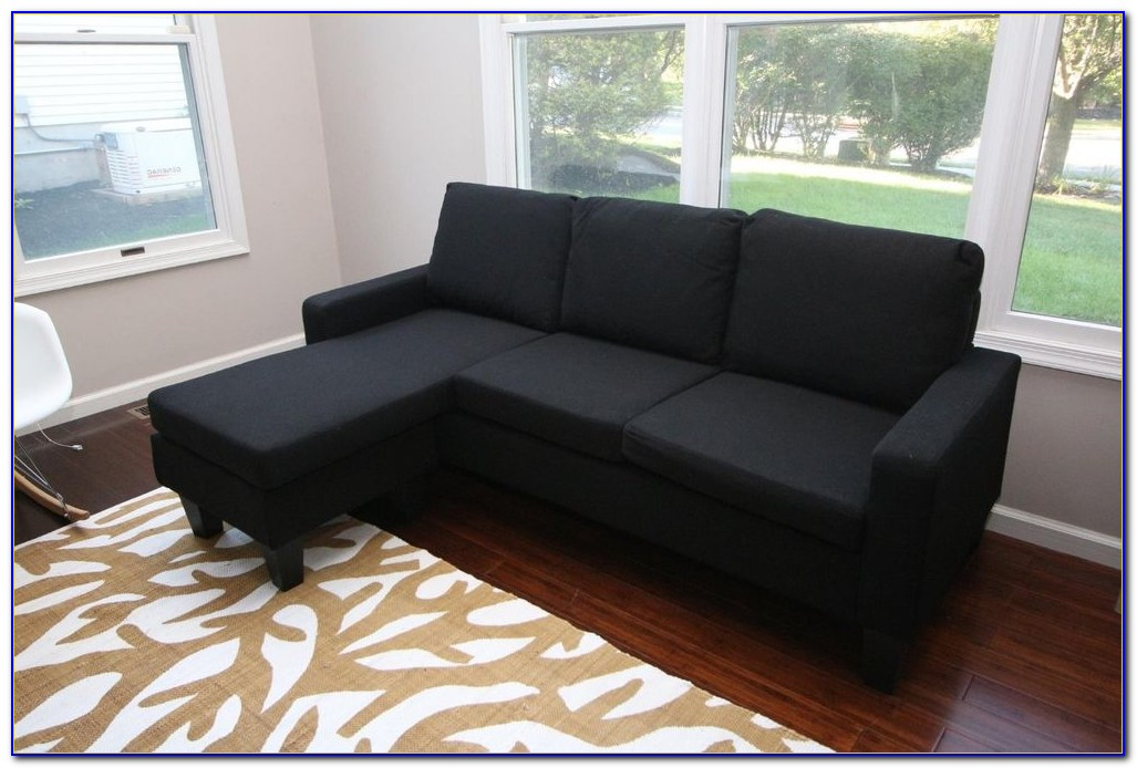 Simmons Sofa With Reversible Chaise