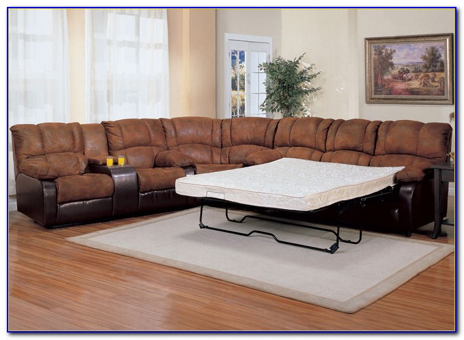 Sleeper Sofa With Recliners