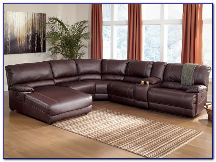 Small Leather Sectional Sofa With Recliner
