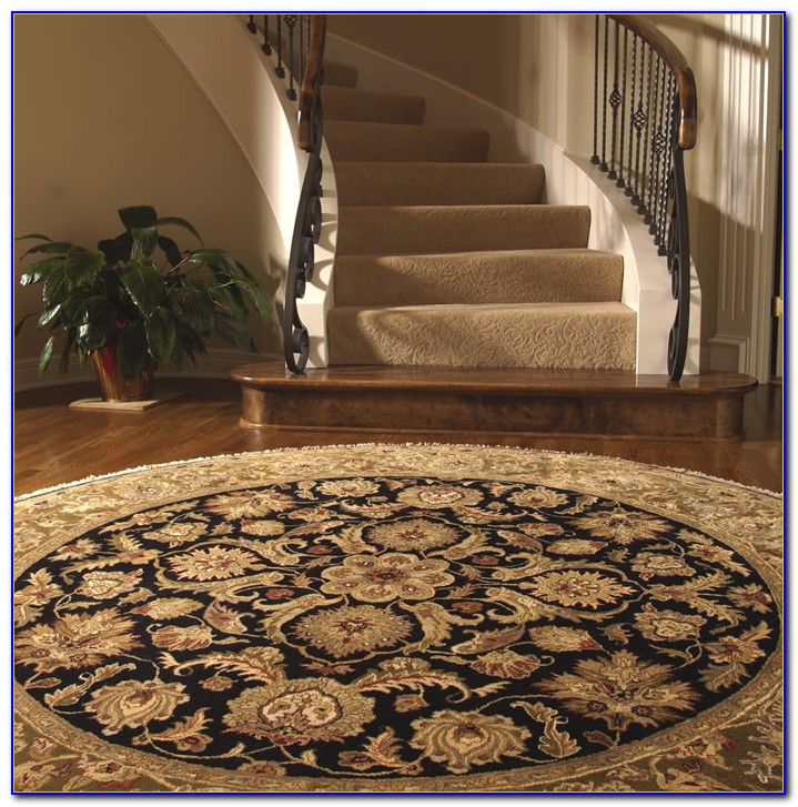 Small Round Entry Rugs