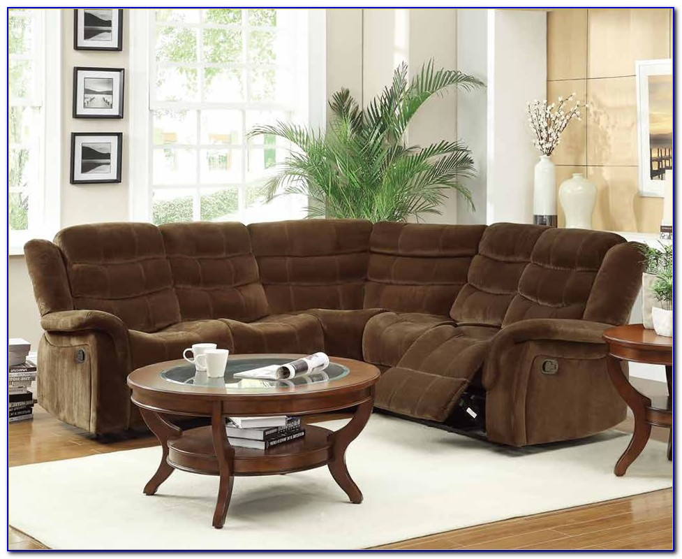 Small Sectional Couches With Recliners